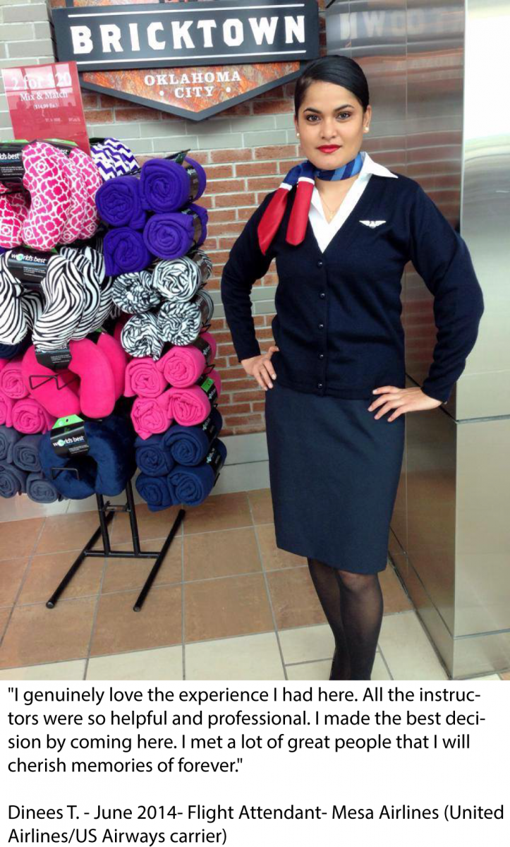 Airport codes Dinees- Flight Attendant at Mesa Airlines
