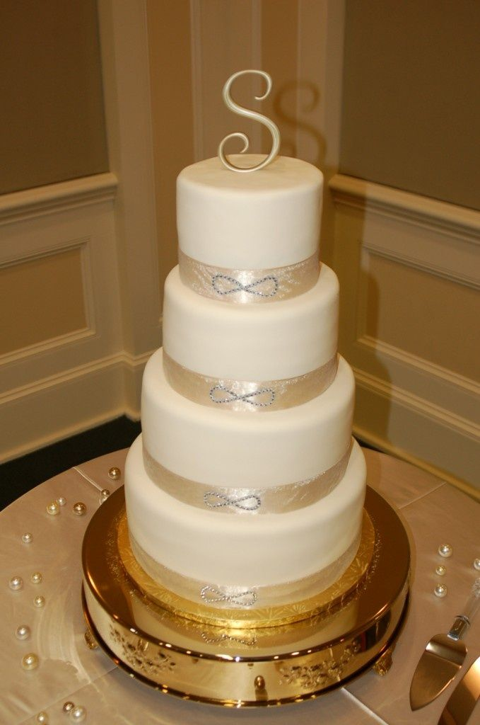 Infinity Symbol Wedding Invitations Cly Themed Cake