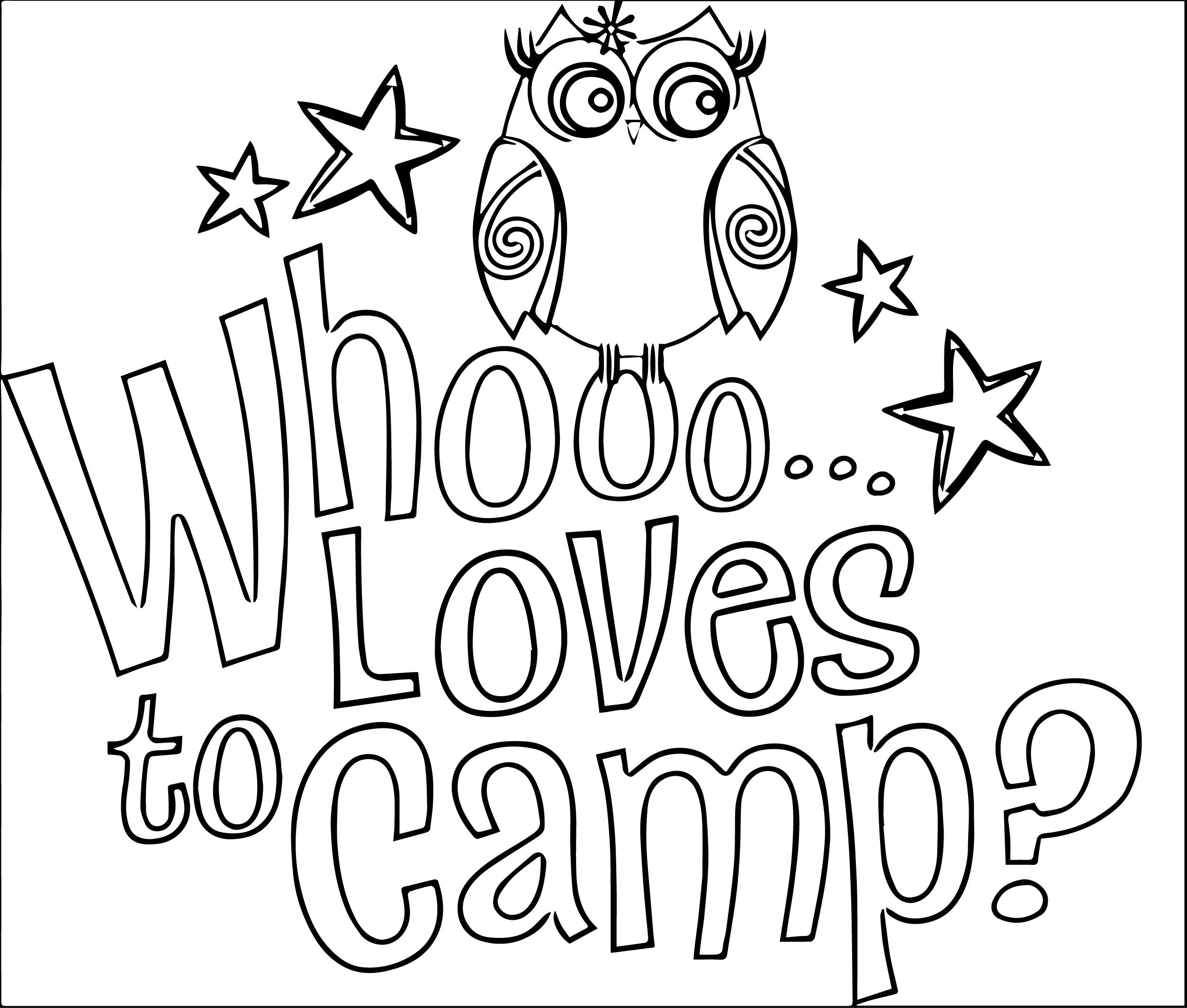 It is a picture of Zany Free Printable Camping Coloring Pages