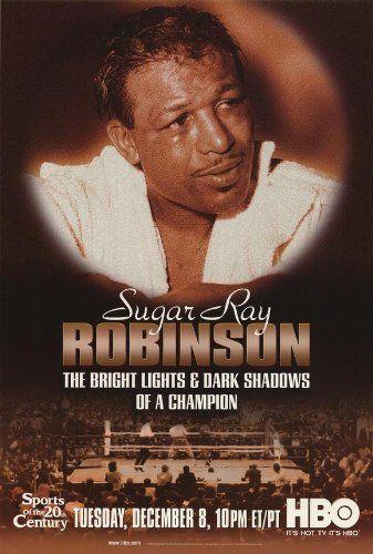 Sugar Ray Robinson: The Bright Lights and Dark Shadows of a Champion Poster 27×40 Dave Anderson