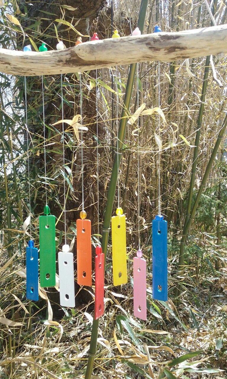 Garden chime gardeningforpreschoolers is part of Diy wind chimes -