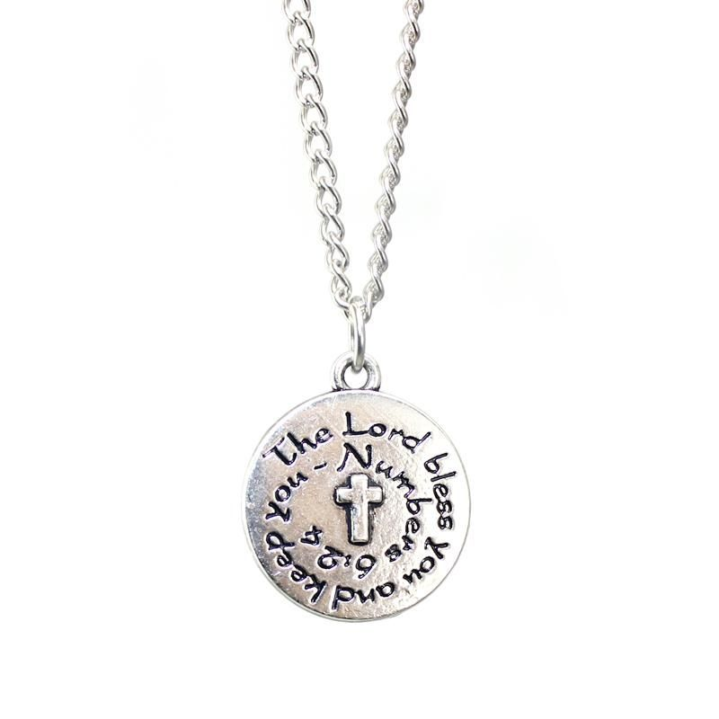 The Lord Bless You Christian Women's Necklace