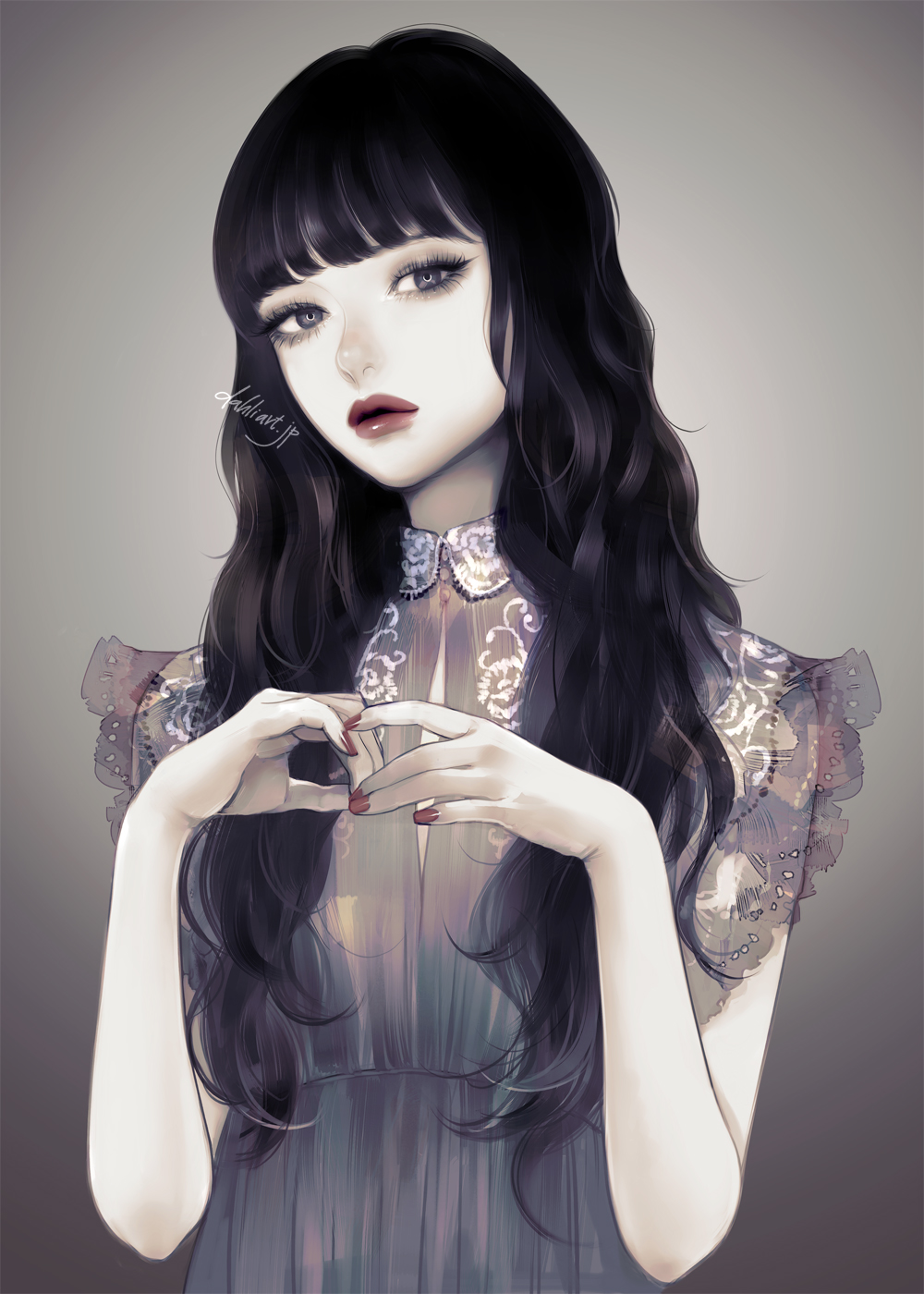 Pin by Aprillana on Girls in 2020 Anime black hair