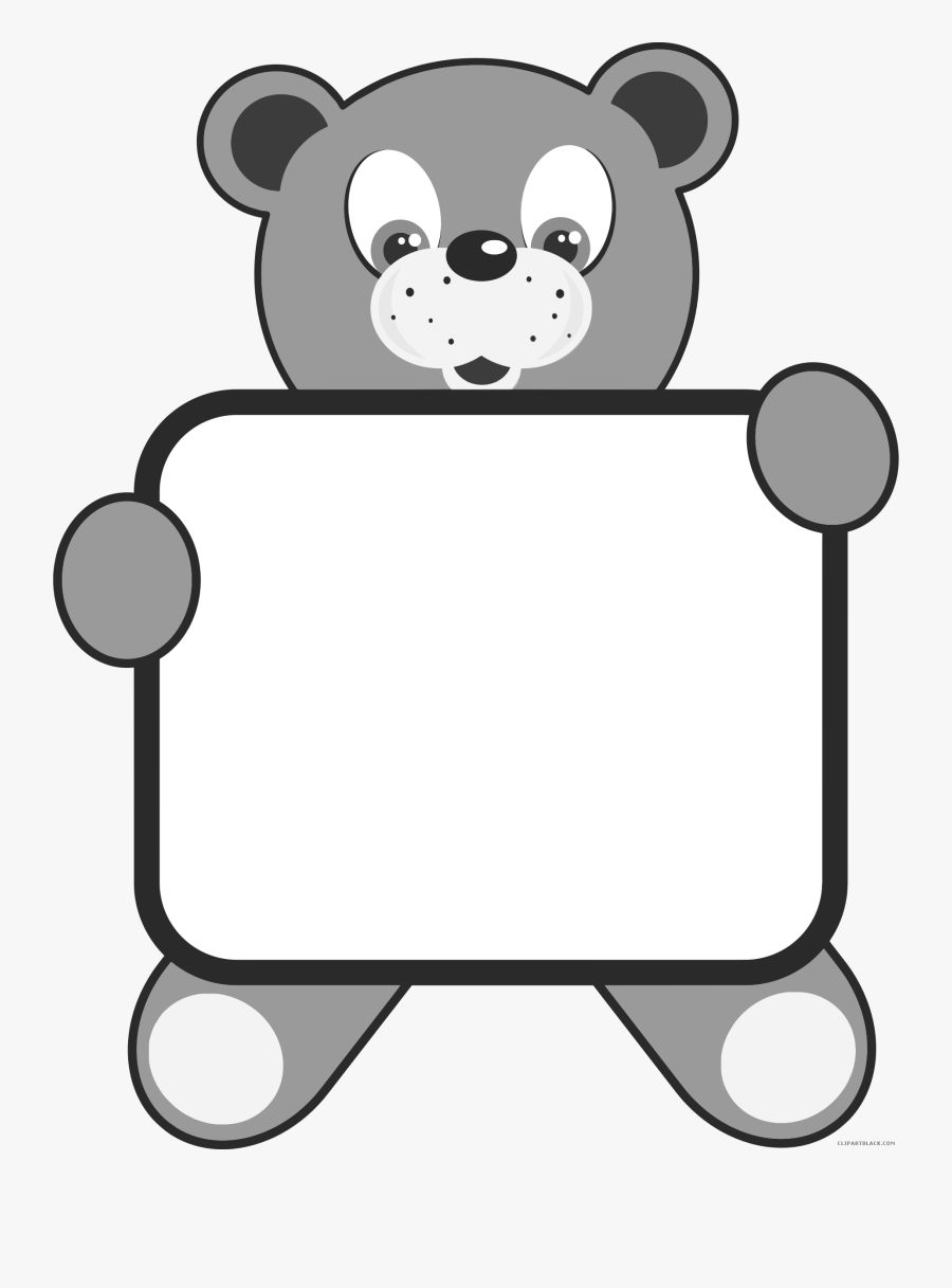 Bear Clipart Black And White Bear Clipart Polar Bear Cartoon Clipart Black And White