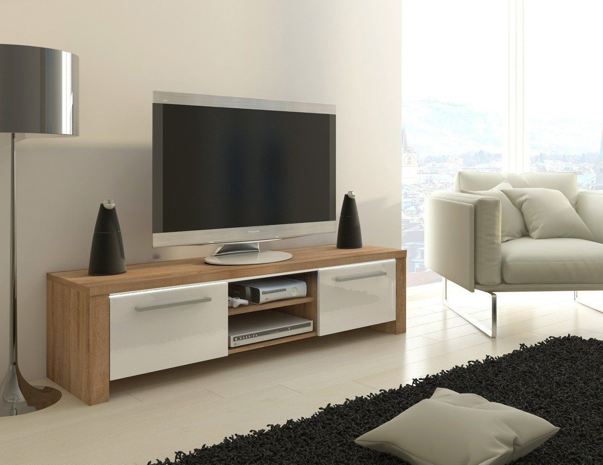 Tv Stand Orlando Led Option Tv Cabinet Tv Table Tv Unit  # Meuble Tv Angelina