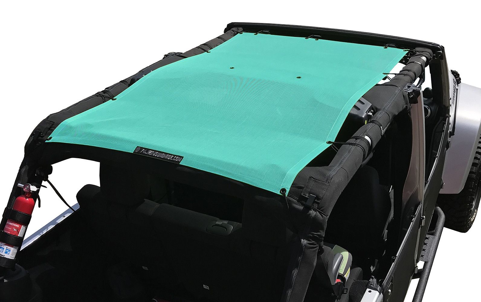 Alien Sunshade Jeep Wrangler Jku4fb Shade Provides Uv Protection