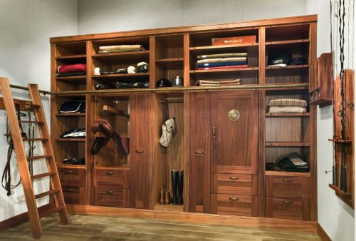 tack room storage systems out of finished wood like this almost make rh pinterest co uk