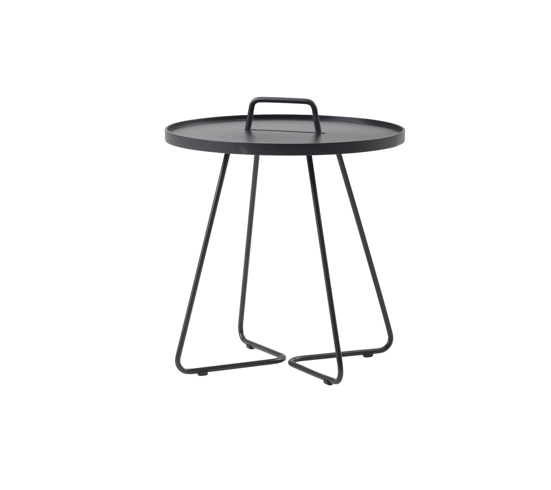 Cane Line On The Move Side Table Large See Selection Cane Line Com Side Table Table Stylish Side Table