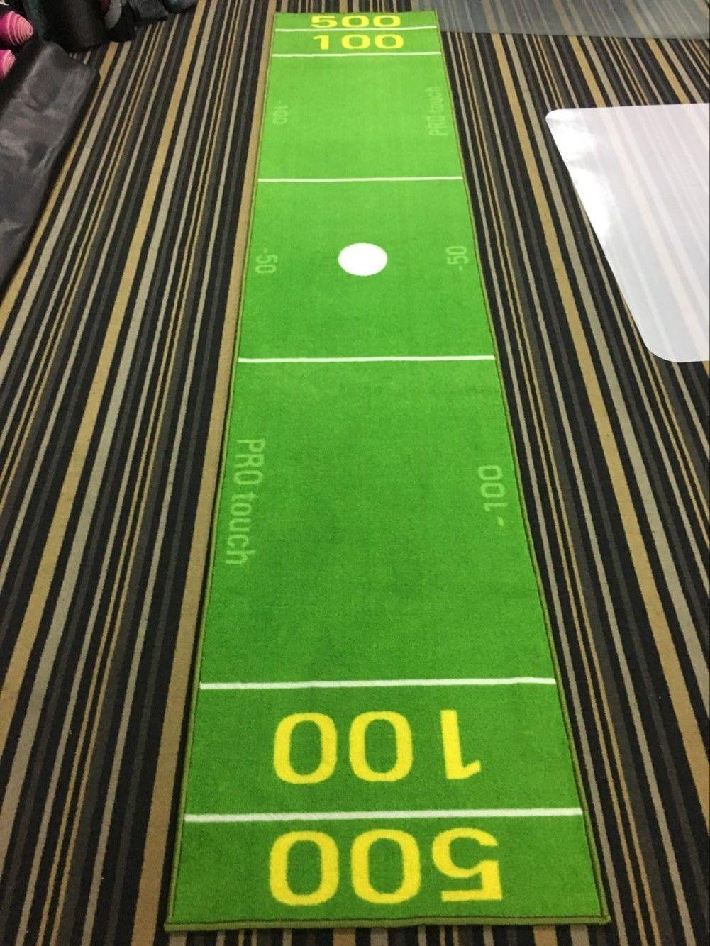 Custom printed golf mats for the office golf mats