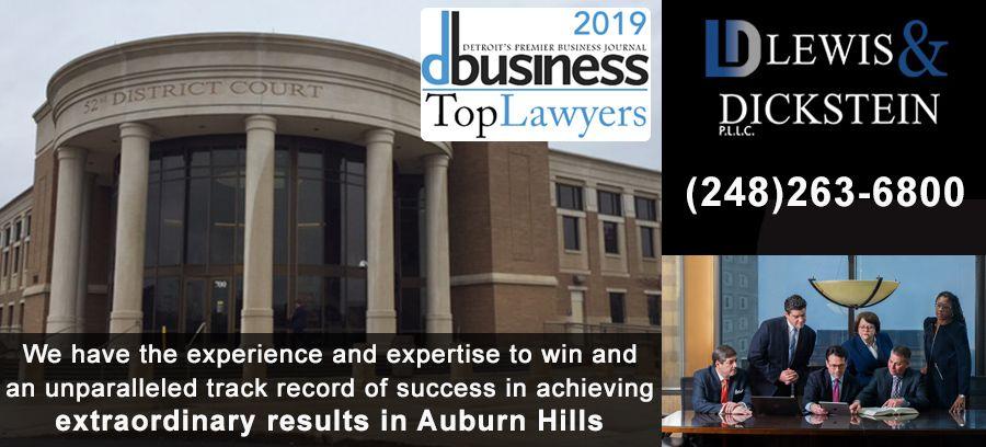 Auburn Hills Criminal Defense Attorney for the 52-3 District