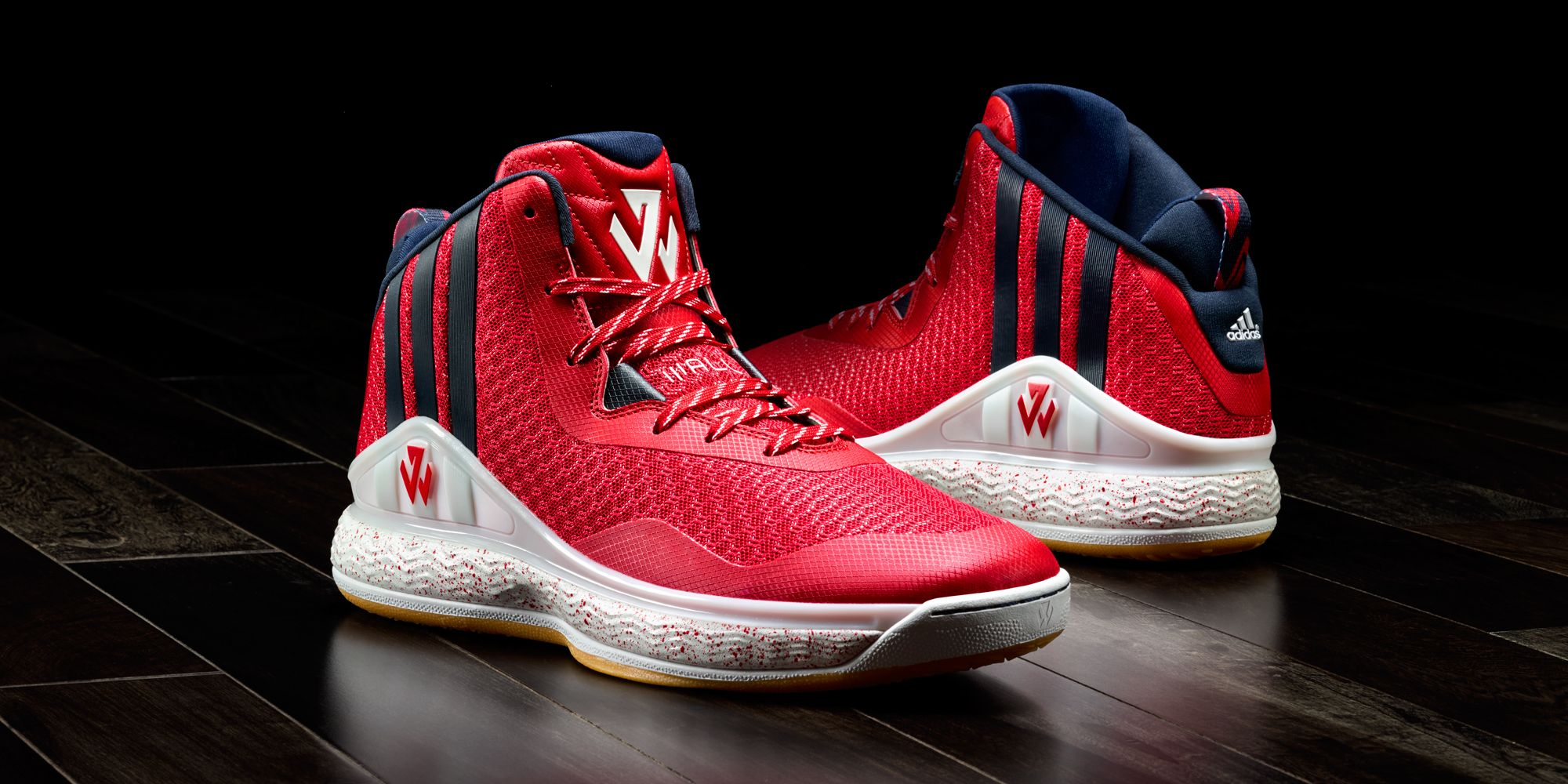 info for efe5e 03ff3 release date adidas j wall 1 red blue 9b263 c2d53