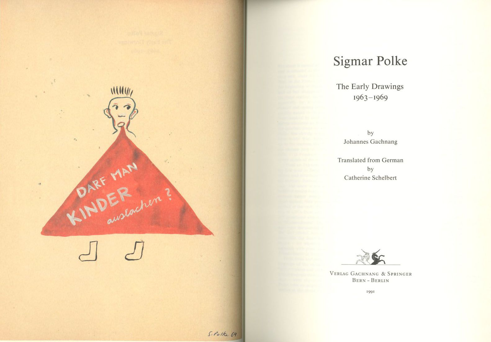 stopping off place: SIGMAR POLKE: The Early Drawings