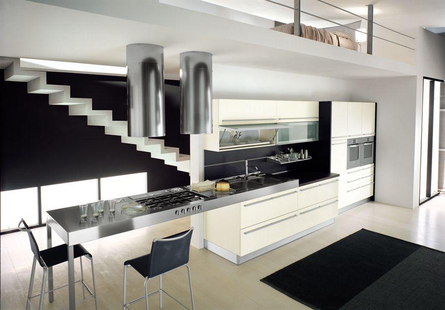 cocina bontempi1 cocinas Pinterest Cocinas y Interiores - cocinas grandes de lujo