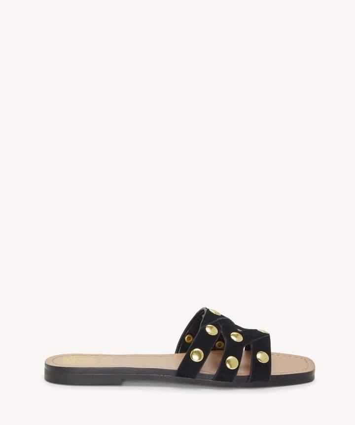 2c8659262593 Sole Society VAZISTA Flat Sandal Leather Heels