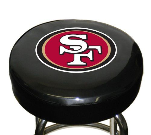 San Francisco 49ers Bar Stool Bar Stool Covers Man Cave Bar Furniture Man Cave Bar
