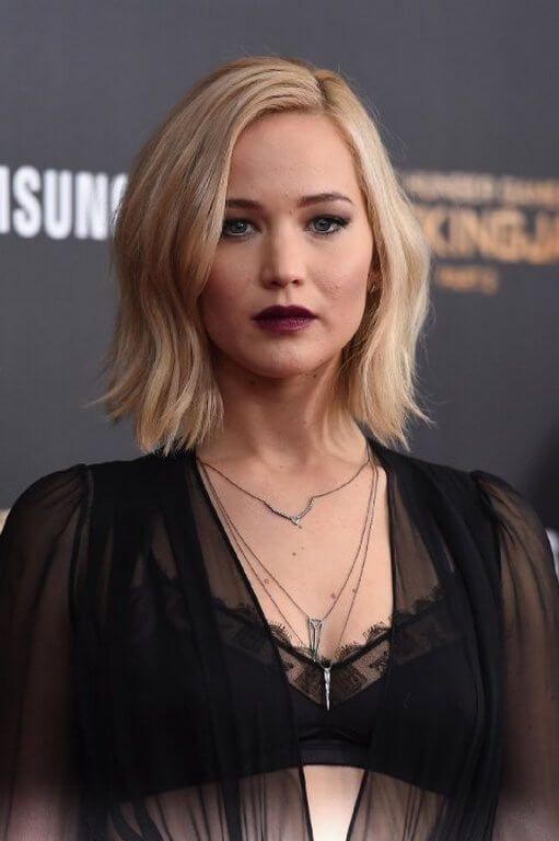 2017 Trendige Frisuren Jennifer Lawrence Trend Haare Trendige Frisuren Mittellange Haare Frisuren Einfach Bob Frisur