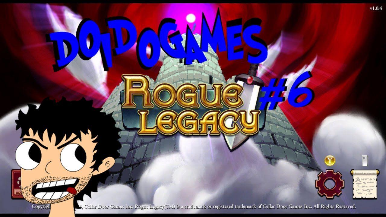 Doidogames #6 - Entre doenças e espinhos - Rogue Legacy