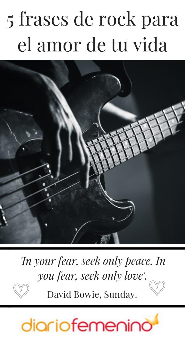5 Frases De Rock Para El Amor De Tu Vida Frases De Amor