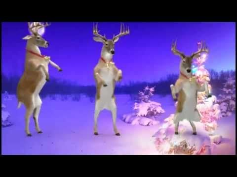 ▶ Santa and Reindeers - Merry Christmas and a Happy New Year. - YouTube