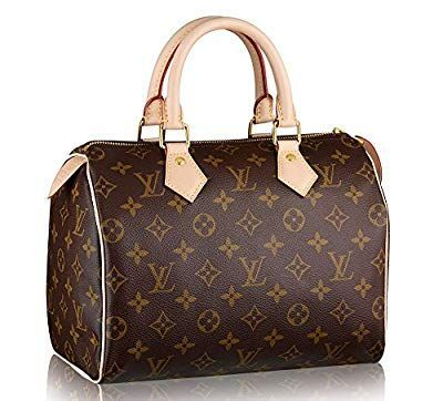 f2f59d5be03f Women s Authentic Louis Vuitton Speedy 25 Brown Monogram Travel Bag   Louisvuittonhandbags Borse Louis Vuitton