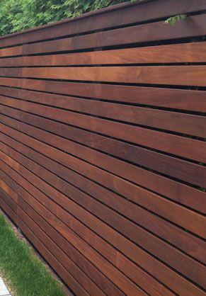 Ipe Fencing Ipe Fence Boards Natural Wood Fence Wood Fence Design Modern Wood Fence Wood Fence