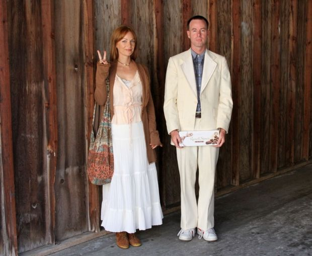 19 Awesome Forrest Gump And Jenny Costume Diy Images Wedding Dress