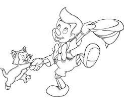Billedresultat for pinocchio coloring pages