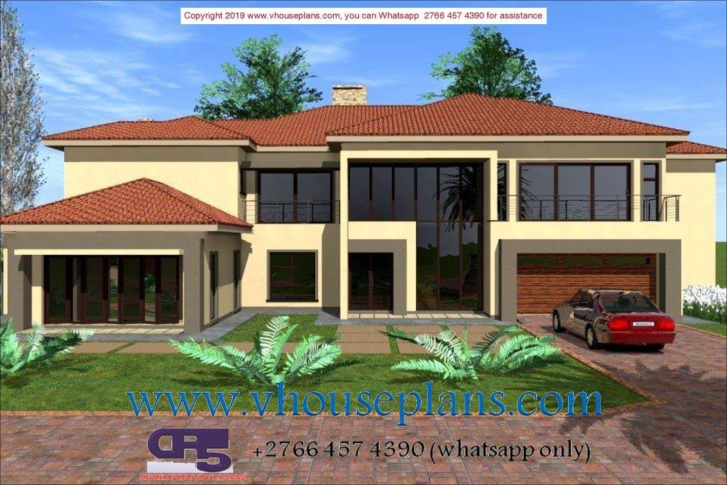 A w1791 in 2020 Double storey house plans, Modern house