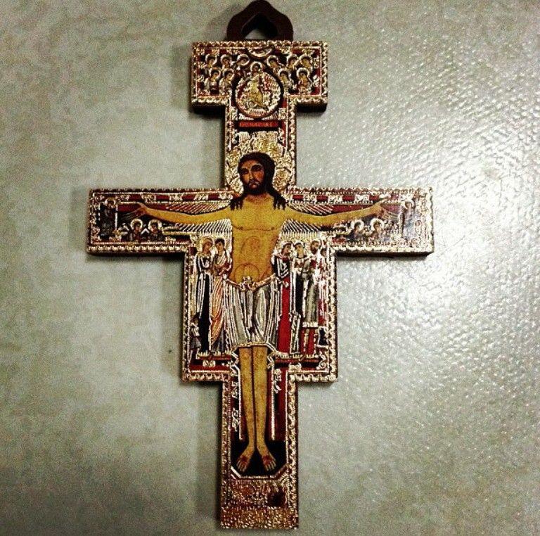 San Damiano Cross St Francis Of Assisi The Franciscan Way