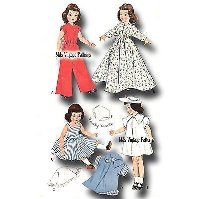 "14/"" Toni Miss Revlon Vintage Doll Clothes Dress Pattern ~  15/"" Sweet Sue"