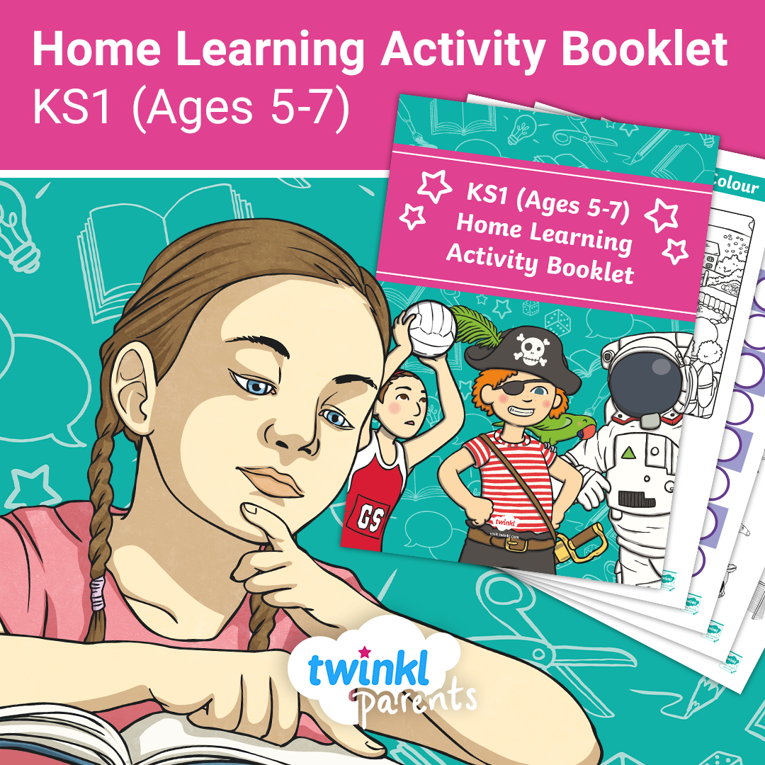 Ks1 Ages 5 7 Home Learning Activity Booklet In