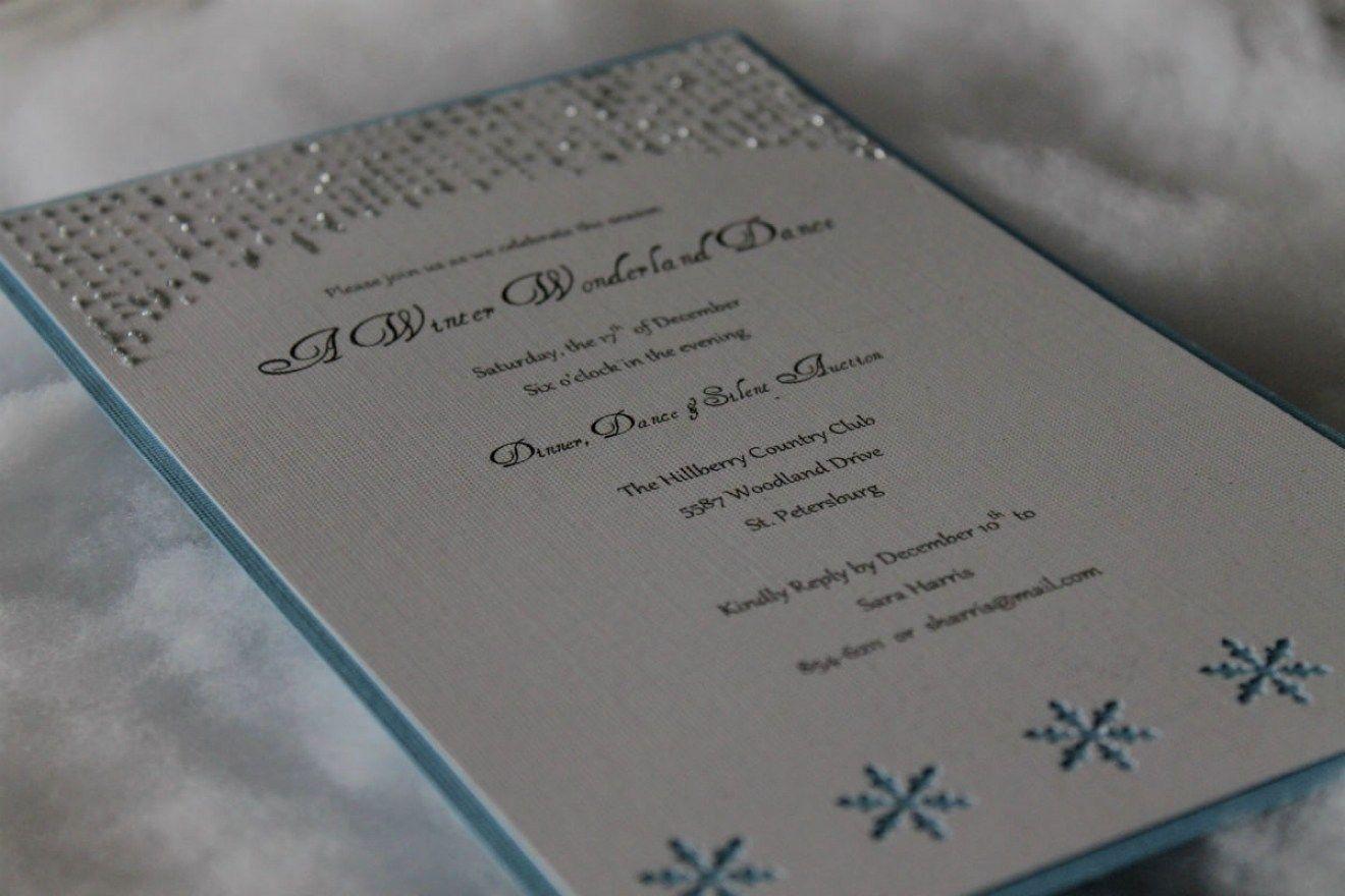 30 Winter Wonderland Wedding Invitations Ideas
