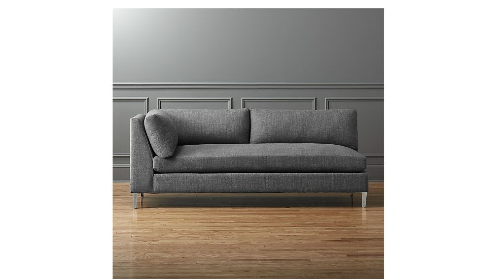 decker left arm sofa // cb2 $1400