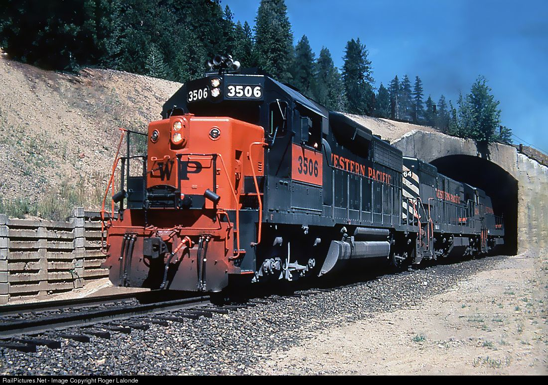Railpictures Net Photo Wp 3506 Western Pacific Emd Gp40 At Quincy