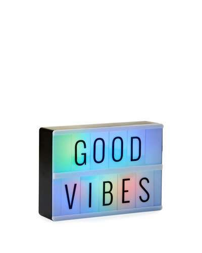 Merkury Innovations Mini Light Box With Letters And