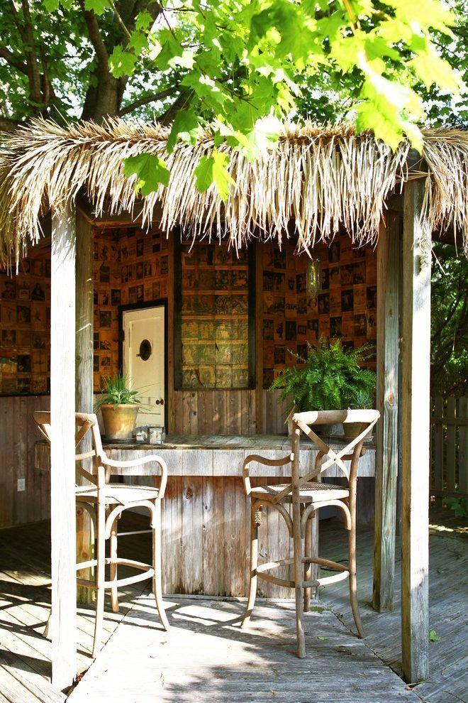 Tiki Bar Roof Designs Outdoor Patio Decor Beach Patio Patio Decor
