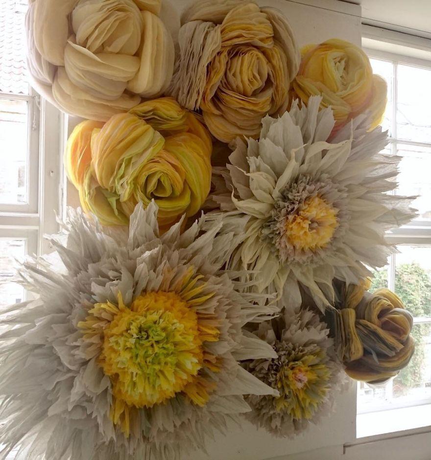 Tissue-Paper-Flower-Art
