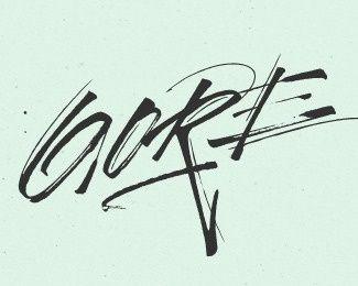 Gore Vidal 2 in Handwriting