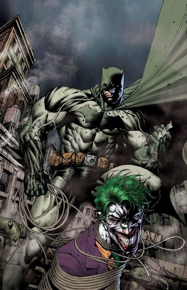 Batman Vs The Joker By Stephen Platt Comics Dc Comics