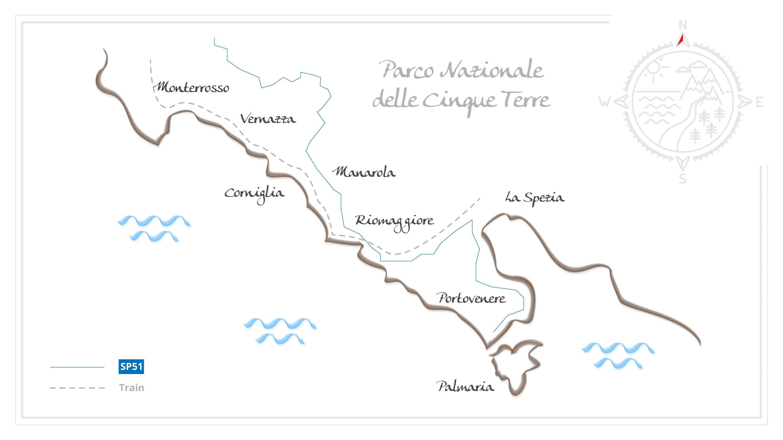 Relier Les Cinque Terre A Pied Entre Terre Et Mer Vogot Blog