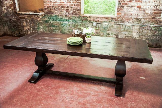 Rustic Trades Furniture Atlanta Ga Handmade Distressed Reclaimed Rustic Tables And Furniture Farm Dining Table Dining Dining Table In Kitchen