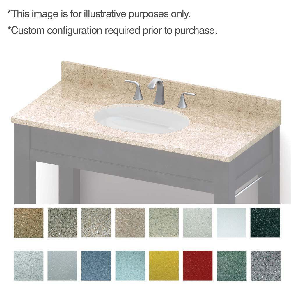 Vanity Tops Backsplash Custom Top Best Bathroom Vanities