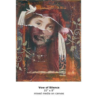 Vow of Silence by Darlene Olivia McElroy