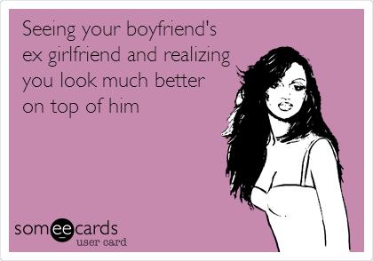 How to deal with boyfriends ex girlfriend