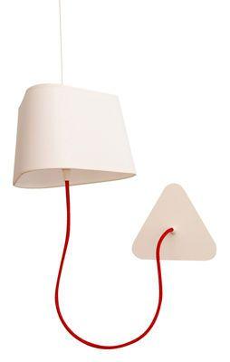 applique avec prise petit nuage l 24 cm fixation au plafond designheure luminaire. Black Bedroom Furniture Sets. Home Design Ideas