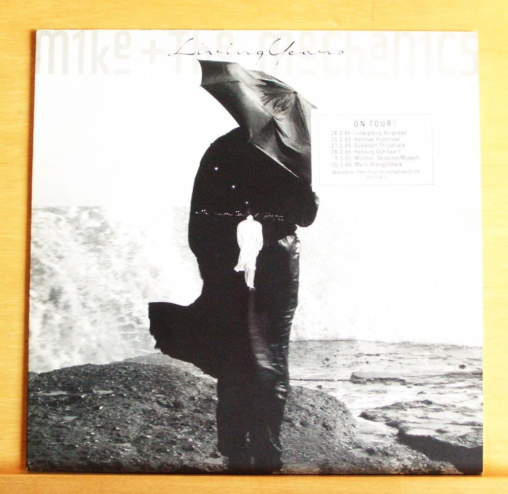MIKE & THE MECHANICS Living Years Vinyl LP Genesis The Living Years Nobody knows