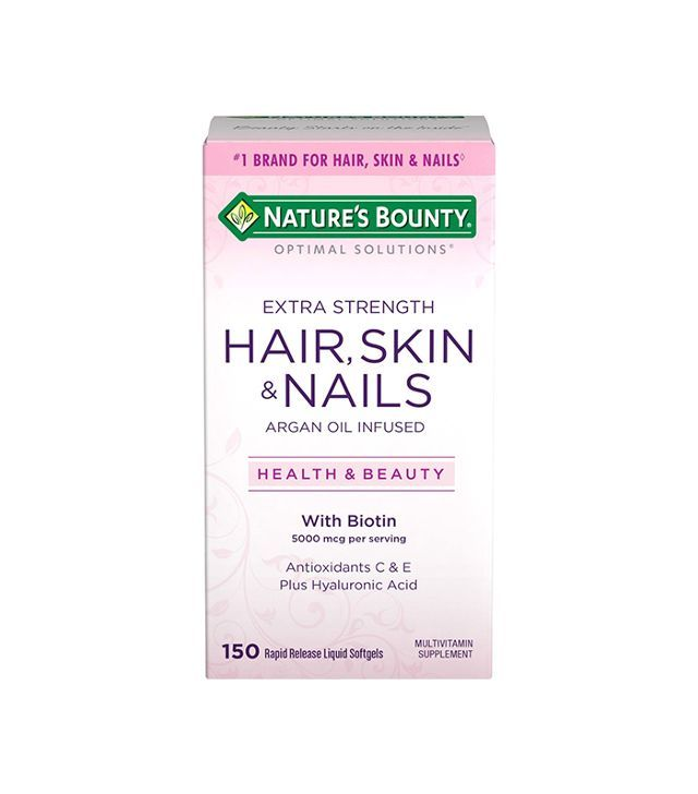 12 Hair Skin And Nail Vitamins That Actually Work Nail Vitamins Hair Skin Nails Vitamins Vitamins For Skin