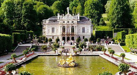 Schloss Linderhof Linderhof Palace Bavaria Germany Schloss Linderhof Schloss Neuschwanstein Linderhof