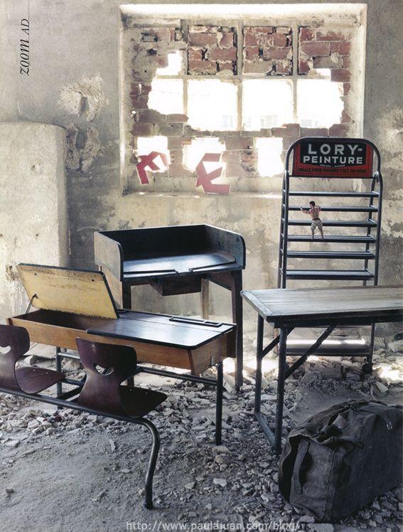 Muebles industriales decora tu hogar muebles industriales for Muebles industriales retro