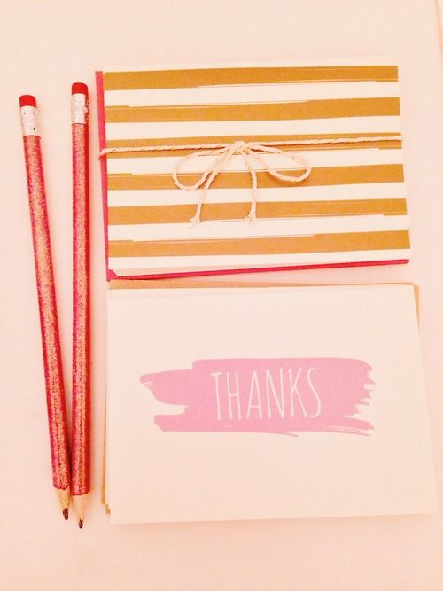 abeautifullife:  Cute stationary and sparkly pencils are always a must